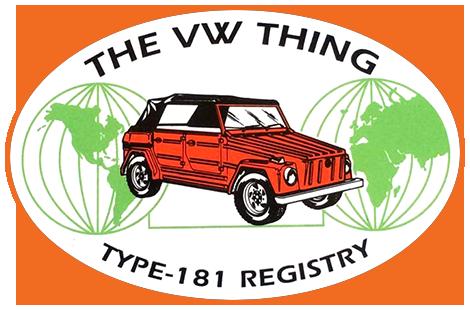 VW Thing Registry Logo